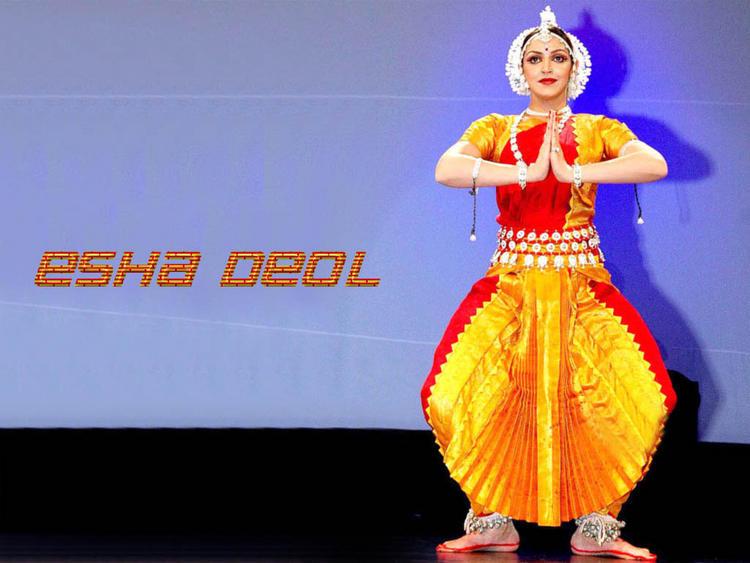 Esha Deol in Odishi look