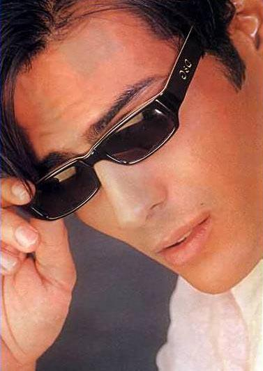 Arjun Rampal with goggles