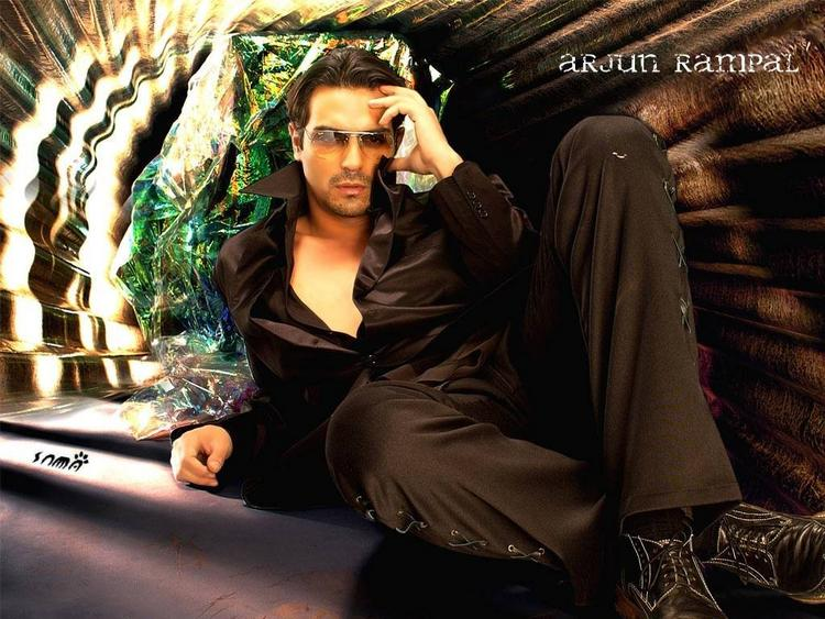Arjun Rampal sexy look wallpaper