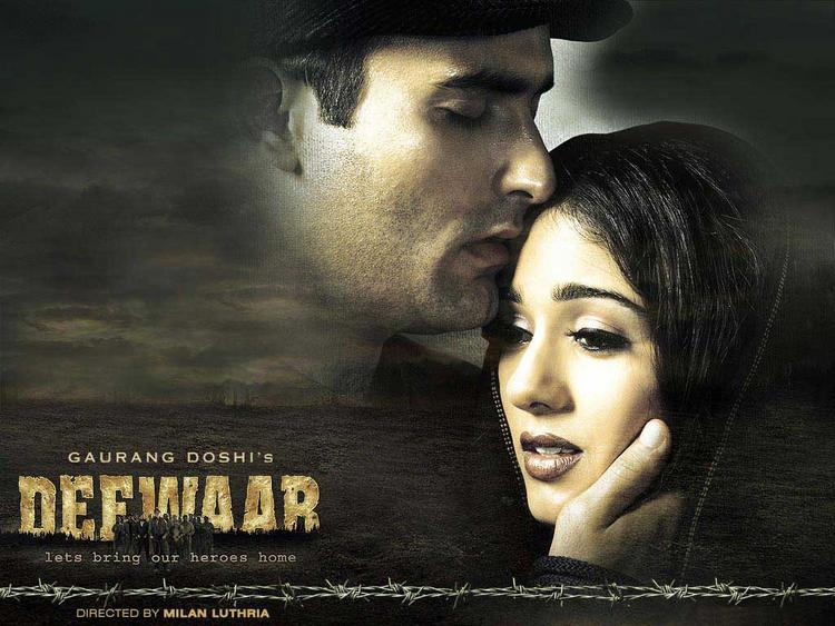 Akshaye Khanna and Amrita Rao in Deewar film wallpaper