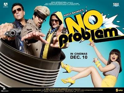 Anil Kapoor,Sanjay Dutt ,Akshaye Khanna Movie review of No Problem wallpaper