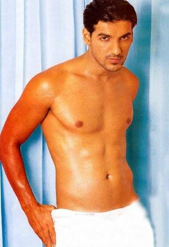 John Abraham six pack wallpaper