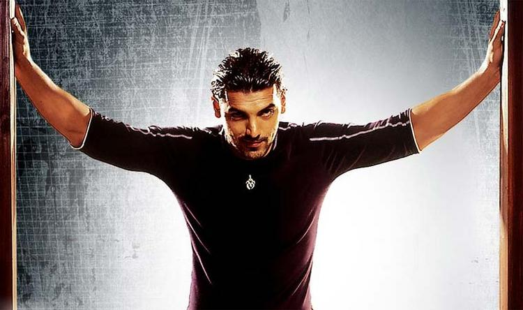 John Abraham in tight shirt wallpaper