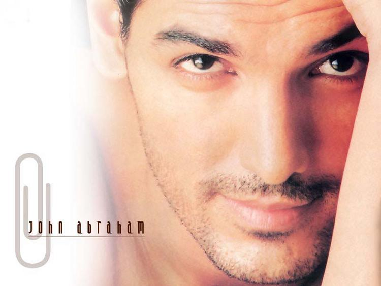 John Abraham cute look wallpaper