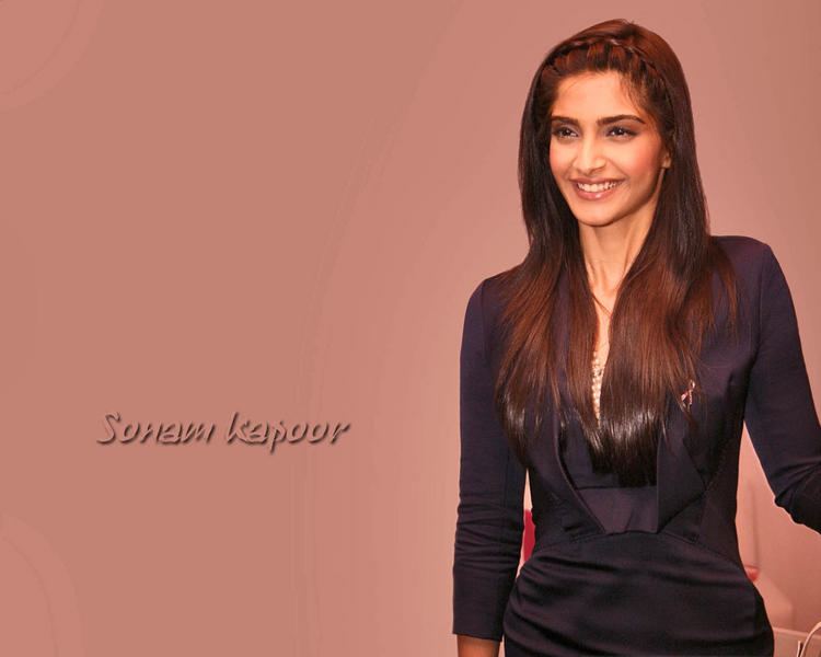 Sonam Kapoor cute hot in tight dress