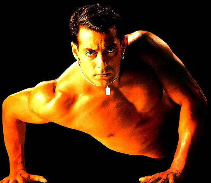 Salman Khan hot body Images