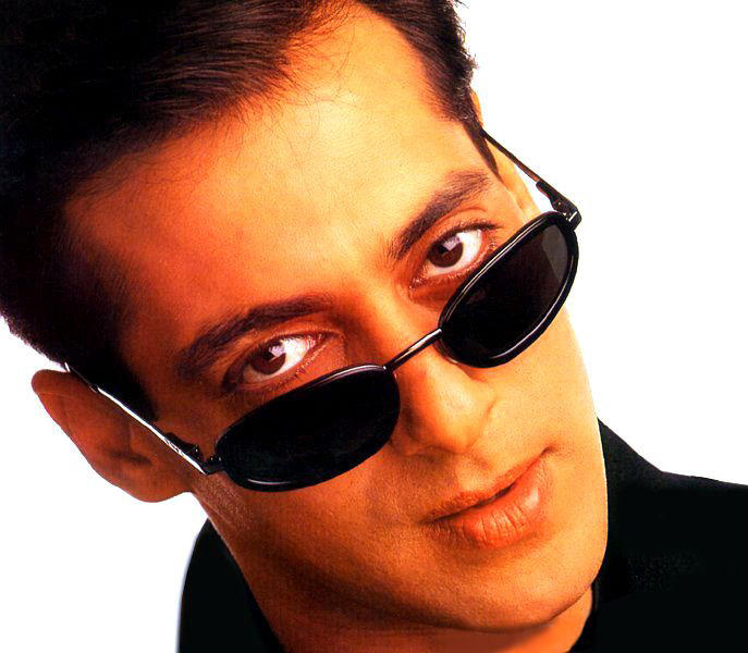 Salman Khan in black goggles hot look