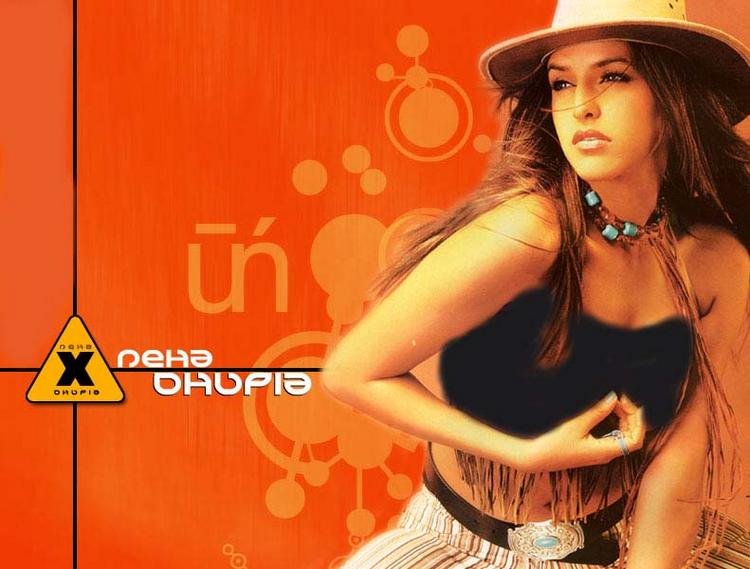 Neha Dhupia hot in bikini wallpaper