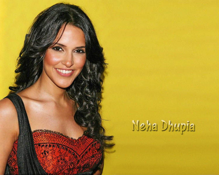 Neha Dhupia hot and sexy wallpaper