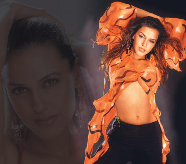 Neha Dhupia latest sexy wallpaper