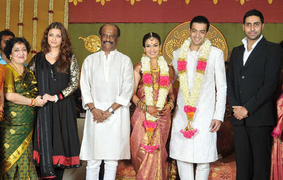 Soundarya Rajinikanth Wedding Photo