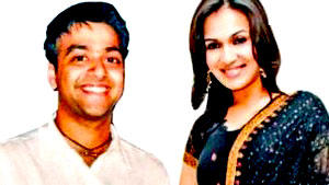 Ashwin Ramkumar with Soundarya Rajinikanth