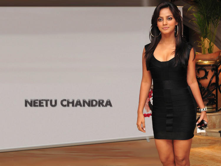 Neetu Chandra black hot and sexy wallpaper