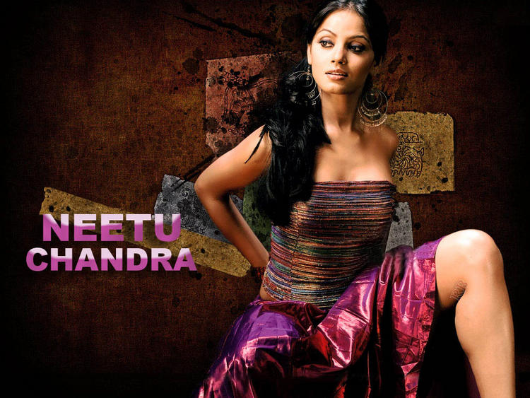 Neetu Chandra sexy and spicy wallpaper