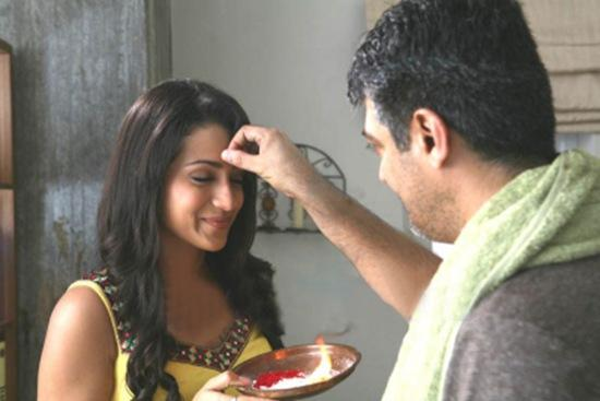 Trisha,Ajith in Mankatha