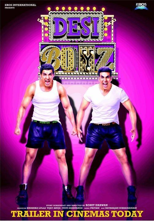 Desi Boyz Movie Posters