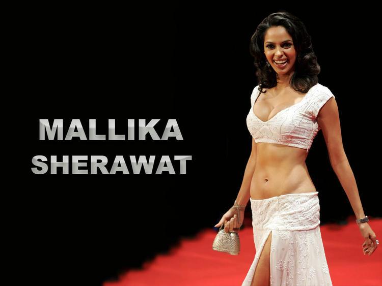 Naughty  Mallika Sherawat hot wallpaper