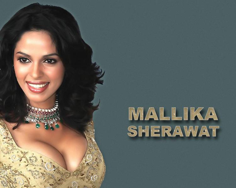 Mallika Sherawat sweet smile wallpaper