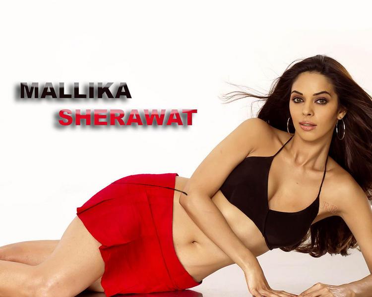 Mallika Sherawat in bikini hot wallpaper