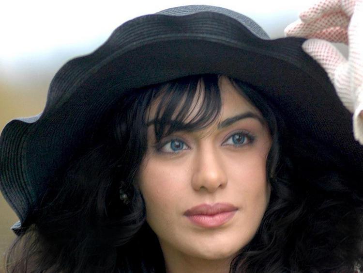 Adah Sharma  Blue eyes look