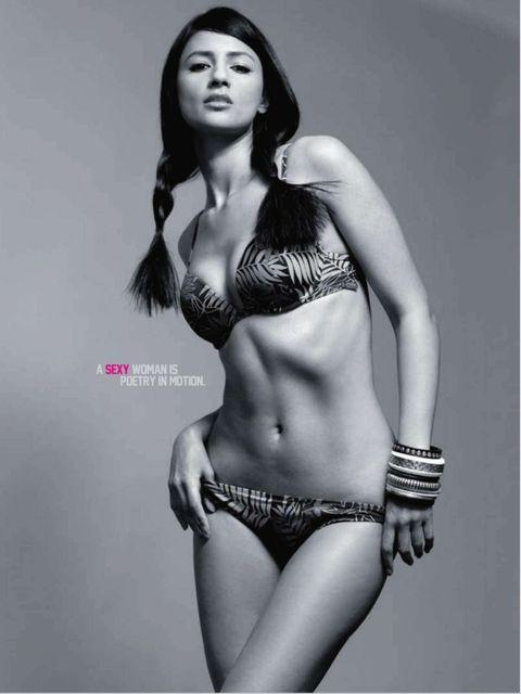 Aruna Shield hot bikini photos from Maxim magazine