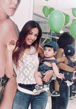 Malaika Arora Khan with her son Arhaan