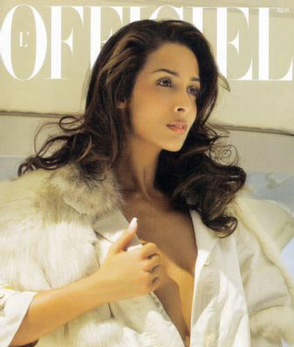 Malaika Arora Khan L'Officiel Magazine India