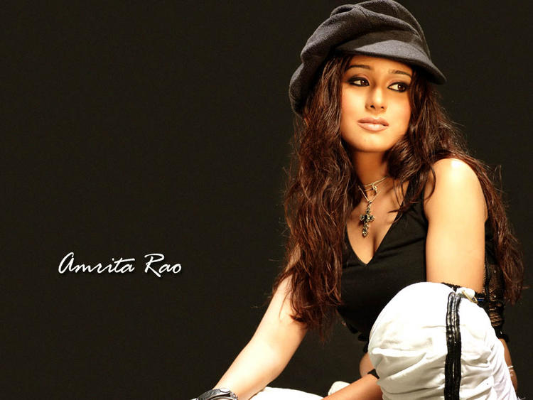 Amrita Rao cute hot wallpaper