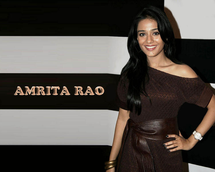 Glorious Amrita Rao wallpaer
