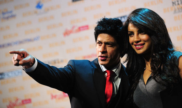 Priyanka,Shahrukh at Don 2 Press Conference in  Berlin
