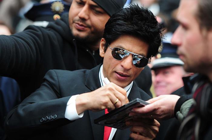 Shahrukh Khan at  Don 2 Berlin Press Conference
