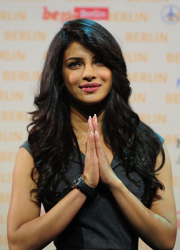 Priyanka Chopra at Don 2 Berlin Press Conference
