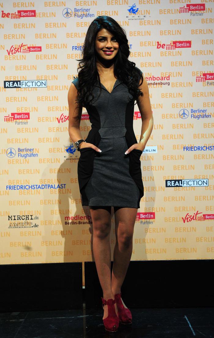 Priyanka Chopra hot pics at Don 2 Berlin Press Conference