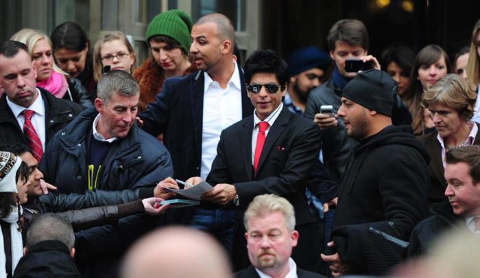 Shahrukh Khan at Don 2 Berlin Press Conference pic