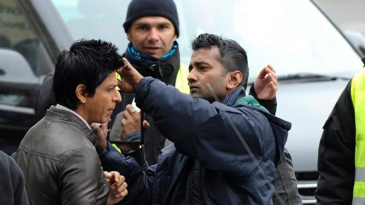 Shahrukh khan on the Sets of Don 2