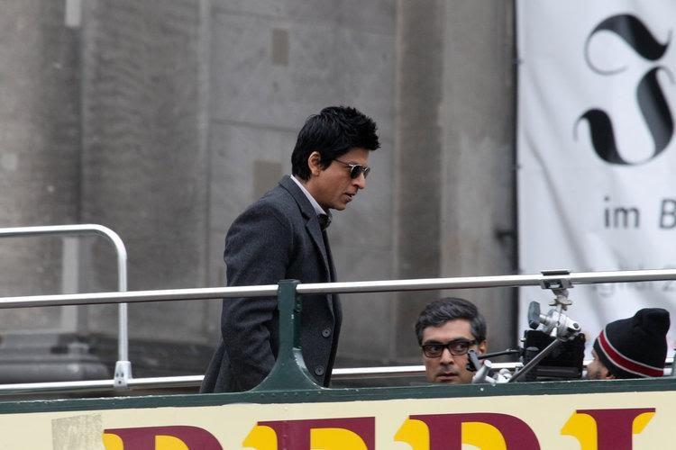 Shahrukh khan Don 2 on shot MCW