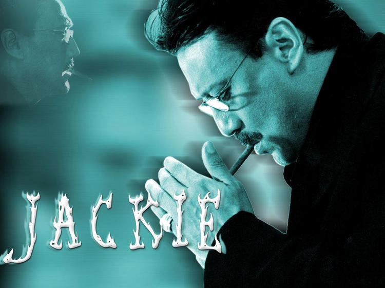 Jackie Shroff with cigarette