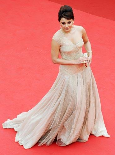 Minissha Lamba at Cannes