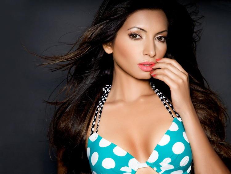 Shama Sikander in bikini posing hot look