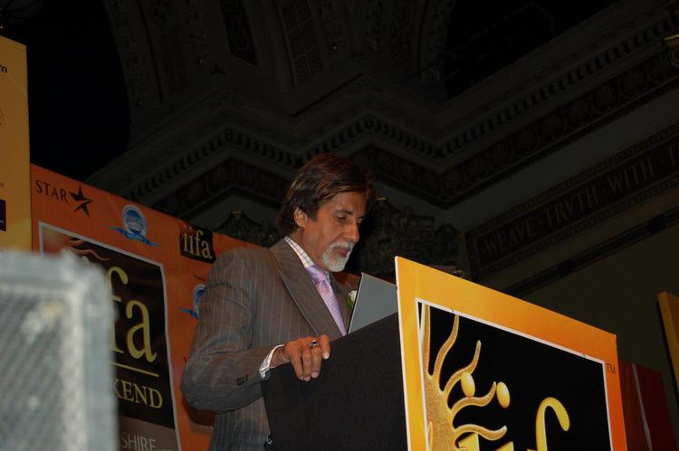 Amitabh Bachchan at IIFA