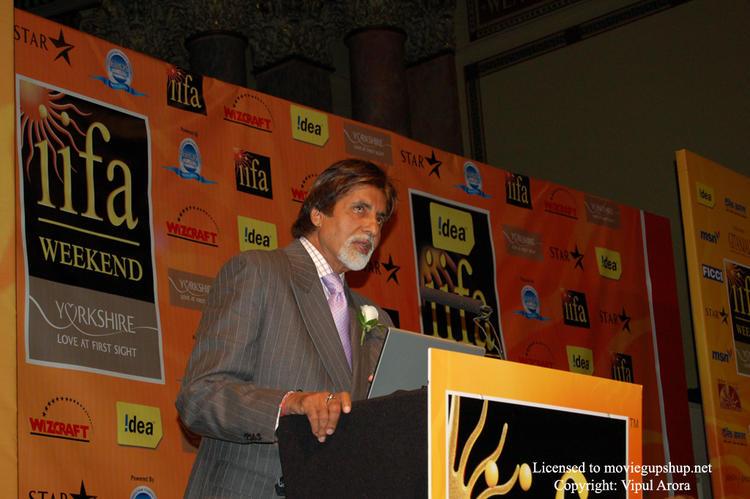 Amitabh Bachchan at IIFA  Conference