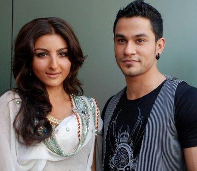 Kunal Khemu and soha ali khan pics