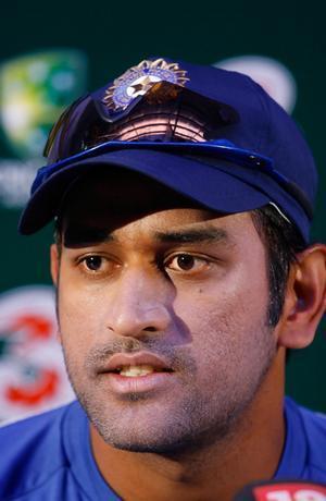 Skipper Mahendra Singh Dhoni