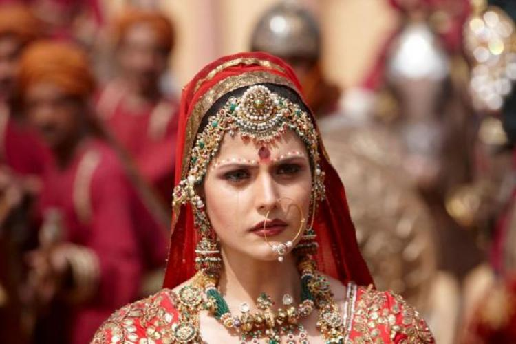 Zarine Khan in beautiful wedding dress
