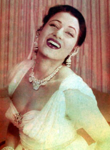 Rare Madhubala Photo - In Color
