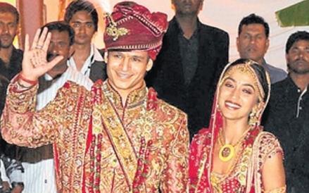 Vivek Oberoi at his wedding