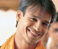 Vivek Oberoi with sweet smile