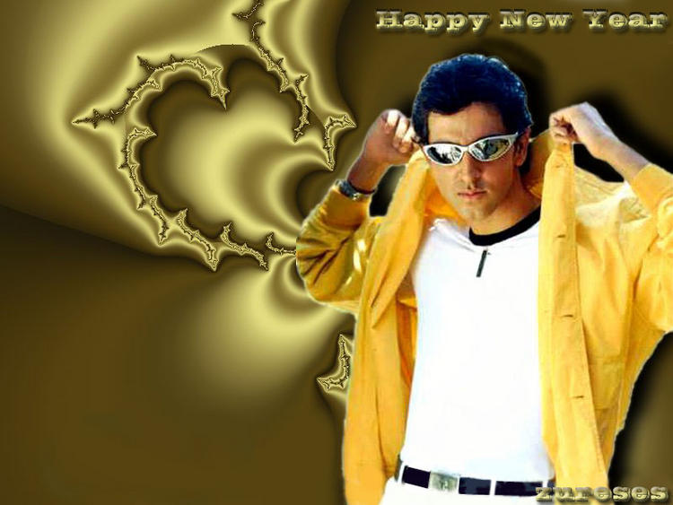 Hrithik Roshan new year wallpaper