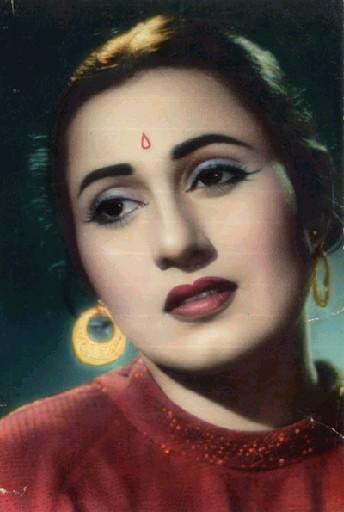 Rare Madhubala Photo - The Face Always With Us