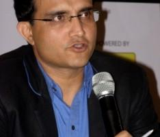 Former Indian Skipper Sourav Ganguly photo